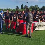 Standing ovation del Martoni per i campioni del Monterosi